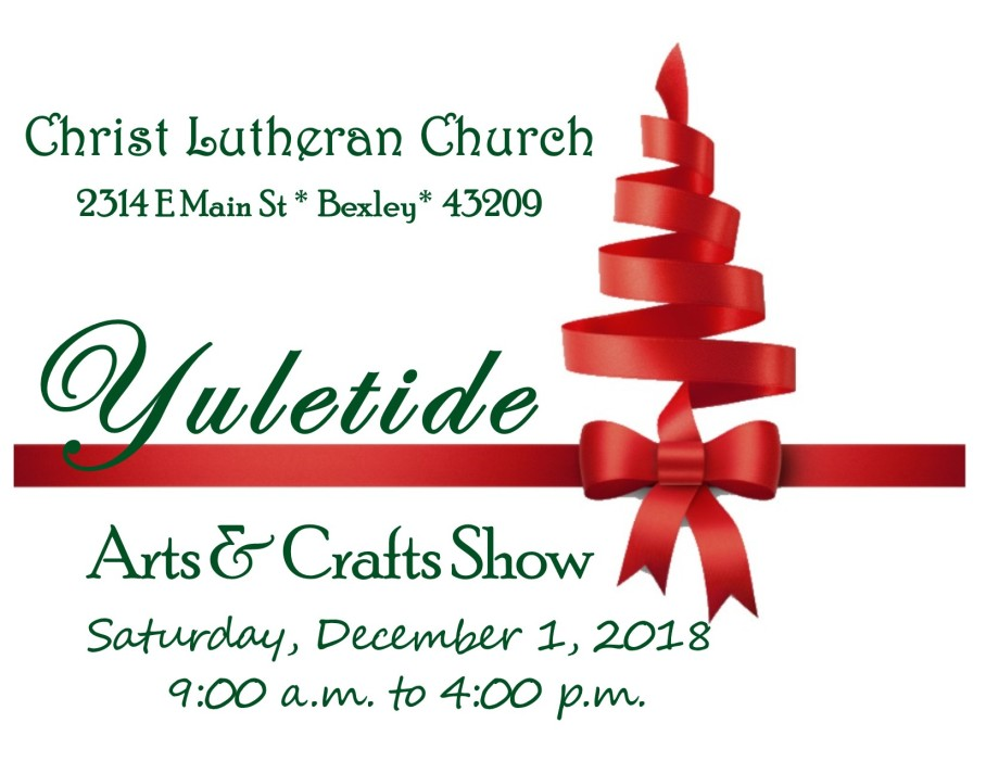 Yuletide logo with date