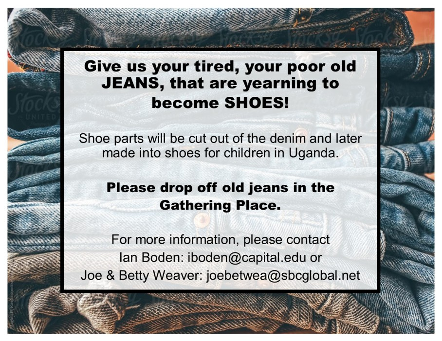 donate blue jeans
